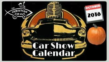 Car Show Calendar August The Christian Car Guy Radio Show - Car show chairs