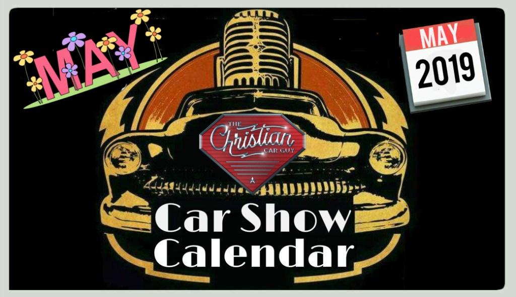 Car Show Calendar May 2019