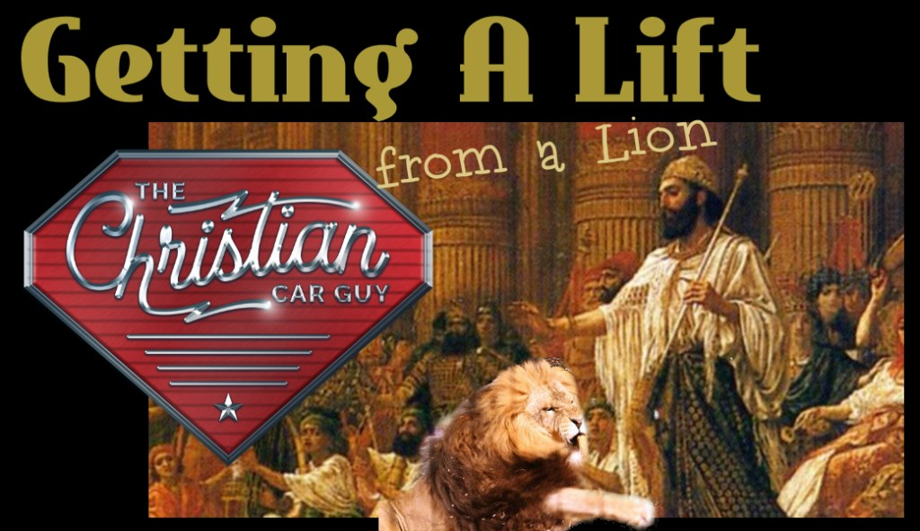 Getting A Lift – from a Lion