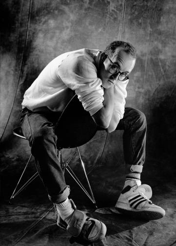 keith haring by Christian Coigny