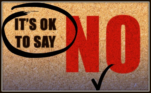 Image result for it's ok to say no