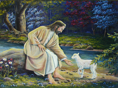 The Lost Sheep Found God's Love