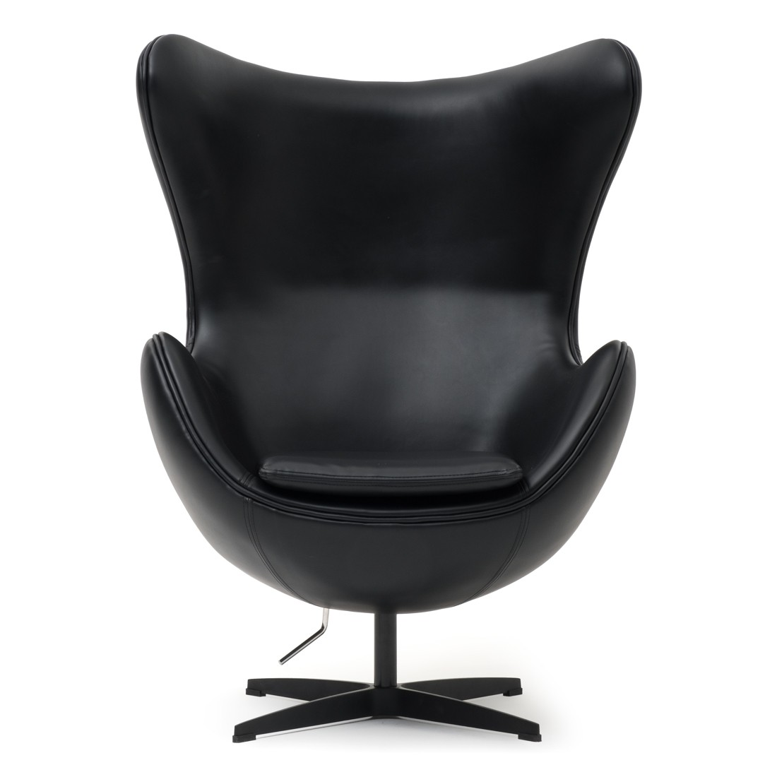 Black Egg Chair from Mobilia