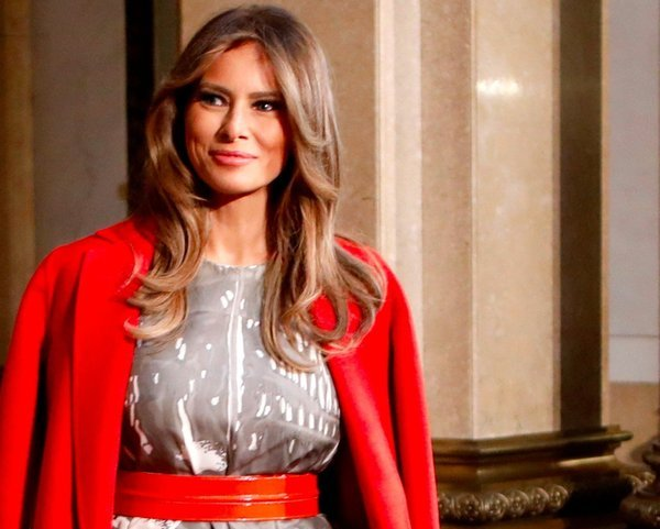 JIA TOLENTINO   The Christian Diarist A Gallup Poll released this past Friday found that First Lady Melania Trump  is viewed favorably by 54 percent of Americans  That amounts to a  remarkable 17