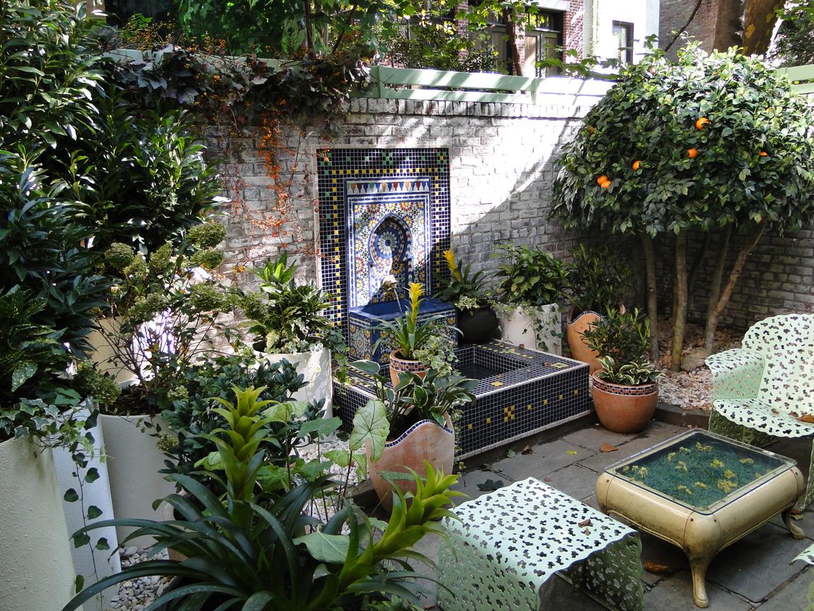 Moroccan Garden, New York, NY - CDL/S on Moroccan Backyard Design  id=29517