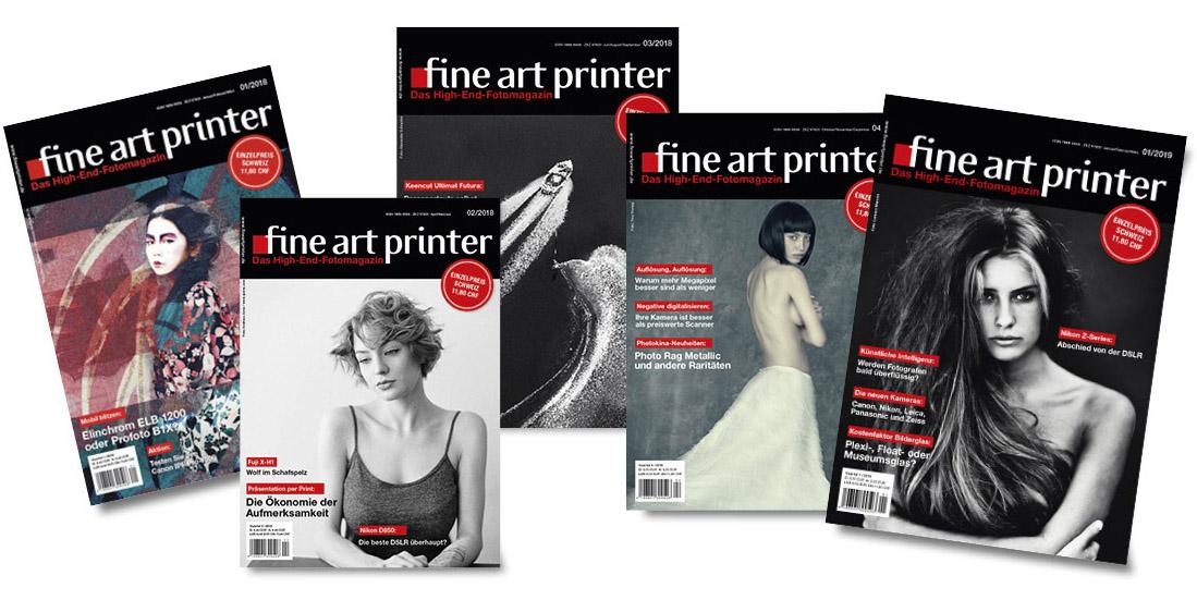 Artdirektion / FineArtPrinter-Magazin / will Magazine Verlag