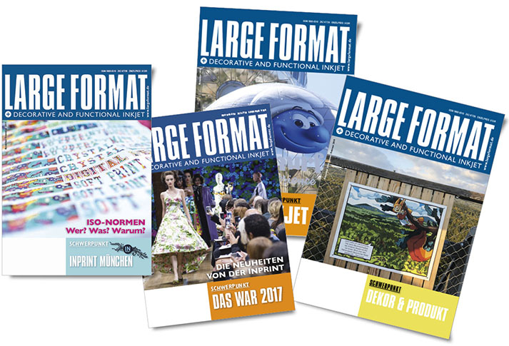 Artdirektion / Large Format Magazin /will Magazine Verlag