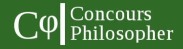 concours philosopher 2016
