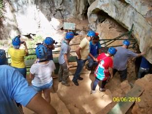 Atividade de campo em cavernas da Chapada Diamantina/BA