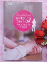 Buchcover der autobiografischen Dokumentation von einem freien sozialen Jahr im Hospiz