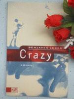Buchcover des autobiografischen Romans crazy von Benjamin Lebert