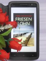 Buchcover des Kriminalromans Friesenlohn
