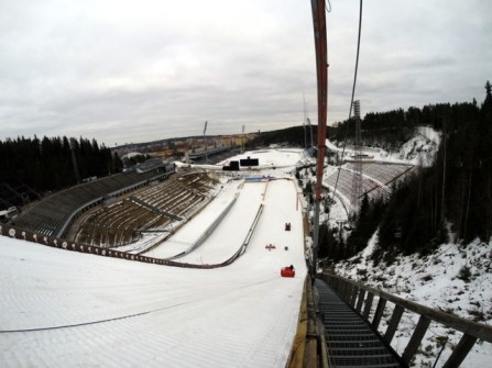 Lahti ski stadium