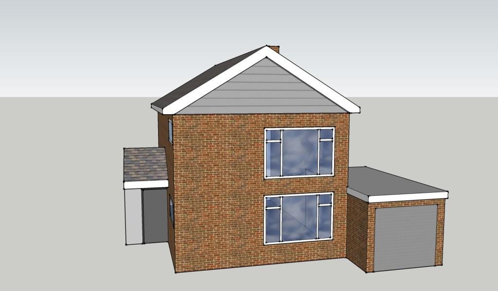 House & Garage