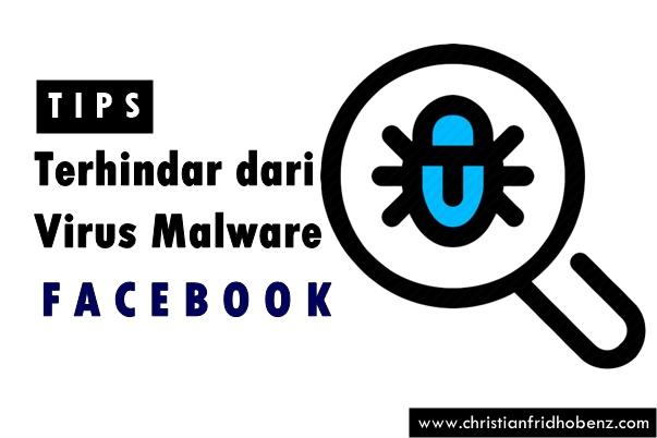 tips hindari malware facebook