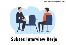 sukses interview kerja