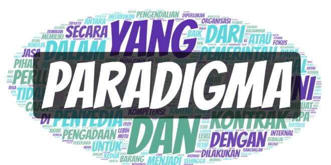 Pergeseran Paradigma Berkontrak Pemerintah