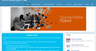 Laman Tutor Universitas Terbuka