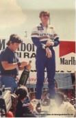 1982; Sieg bei der Rallye Bandama / Elfenbeinküste – gleichzeitig Gewinn des 2. WM-Titels