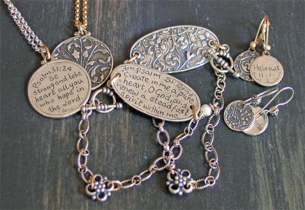 .925 Sterling Silver Scripture Jewelry