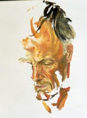 Ufo Portrait Sketch 1999