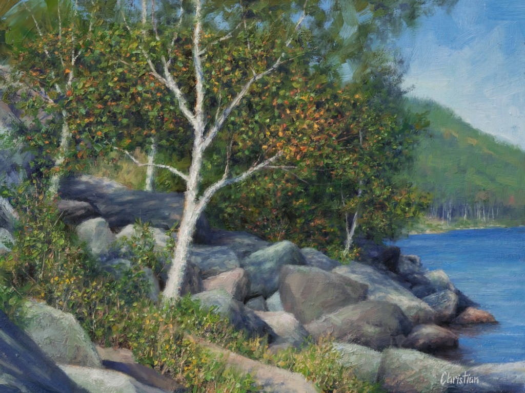 sunny-birch-on-lower-cascade-12x16
