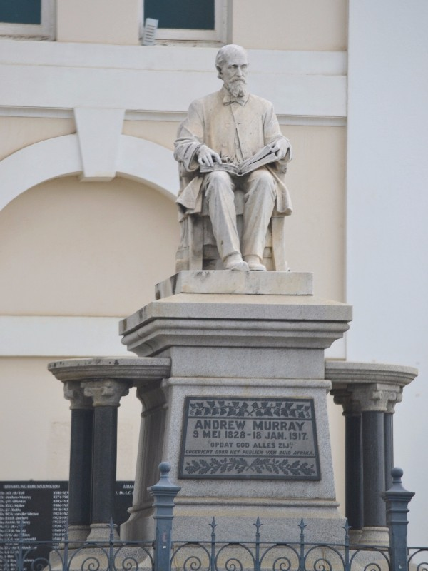 5591 Andrew Murray Memorial 1828 1917 Wellington. 01