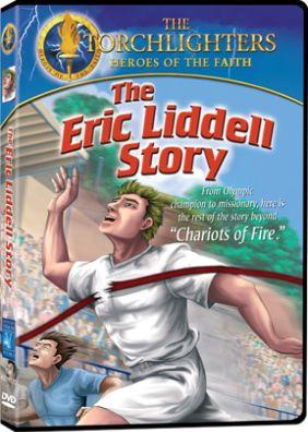 Torchlighters: The Eric Liddell Story - DVD Image