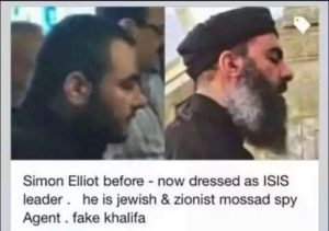 MOSSAD Simon Elliot leader of ISIS