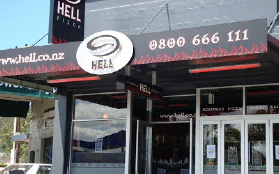 a taste of hell hell pizza