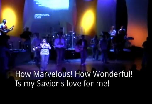 I stand amazed How marvelous