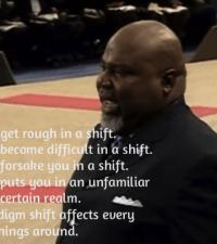 TD Jakes Power of paradigm shift