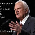 wisdom from Billy Graham