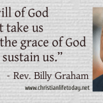 Billy Graham Quote Grace of God