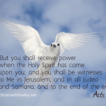 The Holy Spirit Acts 1:8