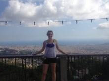 Barcelona behind me!