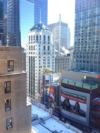 View from the Westin Hotel