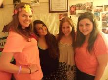 Me and my Kappa sisters...Jackie, Alyssa, Maria