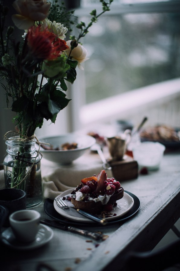 French toast with poached pears | Recipe, Photography & Styling by Christiannkoepke.com-24