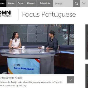 OMNI Television – Focus Portuguese – Click on the image to watch it!