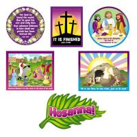 Sunday School Easter bulletin board decorations