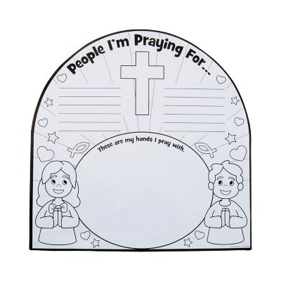 DIY prayer poster