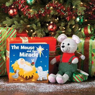 Christian Mouse Miracle Christmas theme items