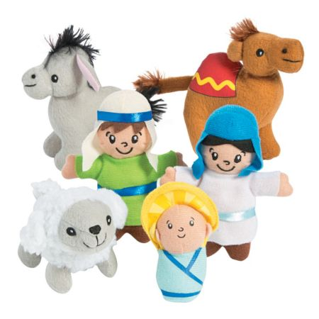 Mini Nativity character stuffed dolls