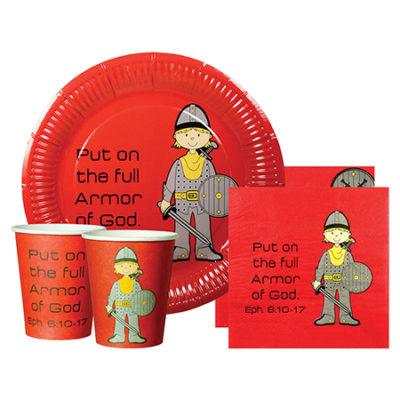 Full Armor of God Christian party supplies
