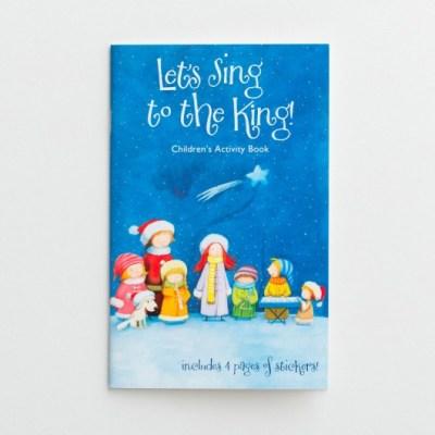 Children Sing to Jesus Christmas activity book
