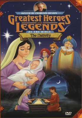 Jesus Born Christmas cartoon