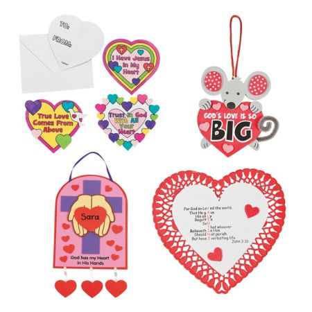 Sunday school valentines day crafts christian valentines for Inspirational valentine crafts