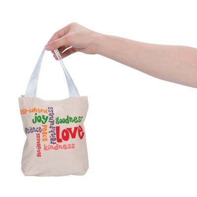 Mini Fruits of Holy Spirit tote bags