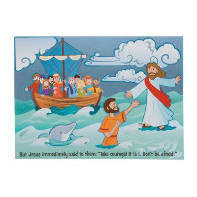 Craft For Jesus Walked On Water